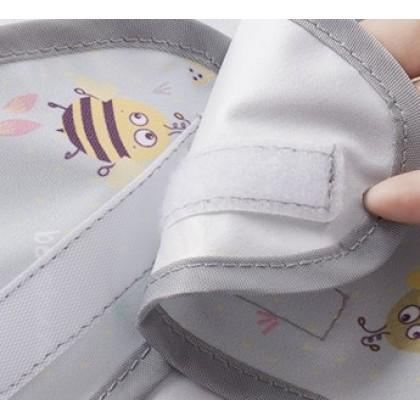 Unicorn Bib and Tray Kit (Short Sleeve)